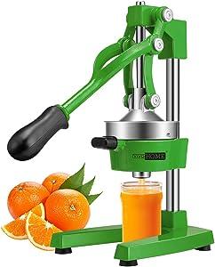 VIVOHOME Heavy Duty Commercial Manual Hand Press Citrus Orange Lemon Juicer Squeezer Machine Green