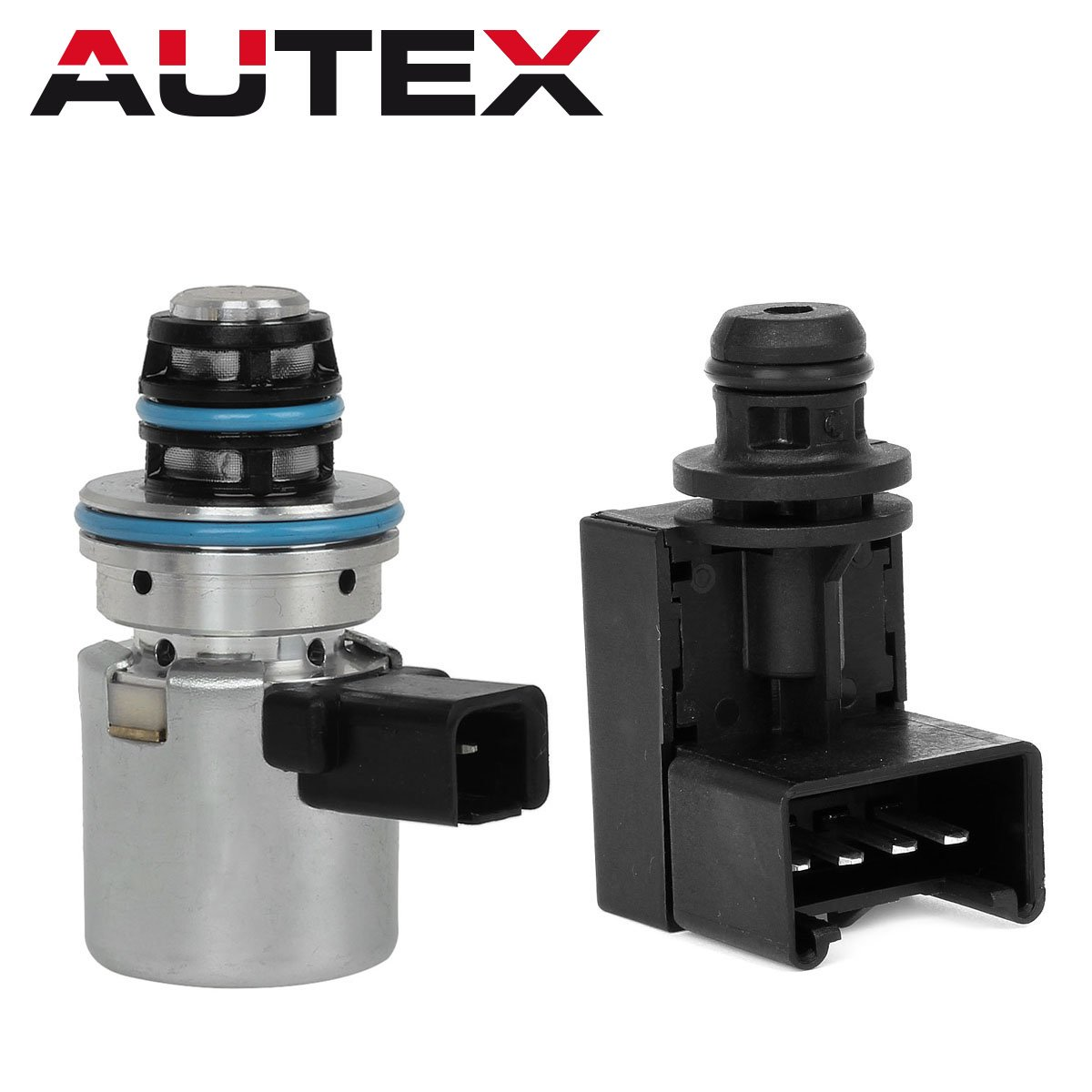 AUTEX A500 A518 46RE 47RE 46RH Governor Pressure Sensor Transducer & Solenoid Kit Compatible With 00 01 02 03 04 Jeep Grand Cherokee/00 01 02 03 Dodge Dakota Dodge Durango/Dodge Ram 1500,2500,3500
