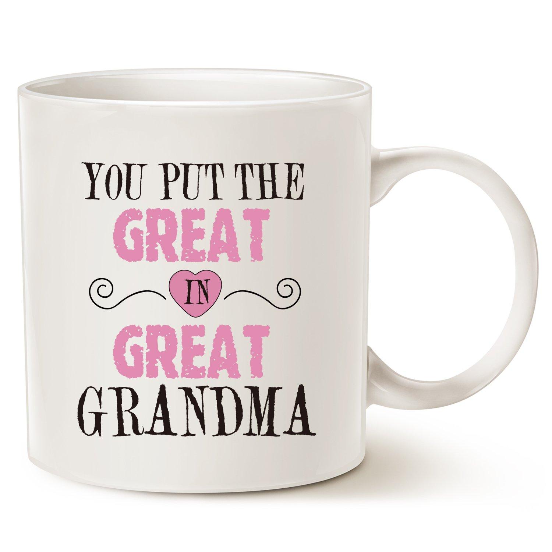 Mothers Day Gifts Christmas Grandma Coffee Mug