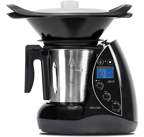 H.Koenig HKM1028 Robot de Cocina Funcion Caliente, 1300 W, 600 W, Acero Inoxidable, multicolor: Amazon.es: Hogar