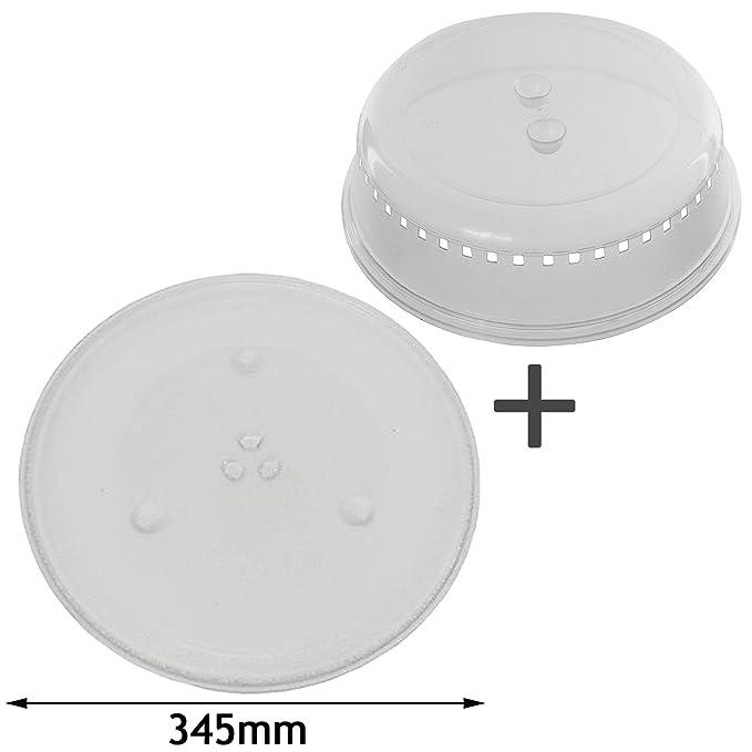 Spares2go 345 mm Universal para plato giratorio del microondas ...