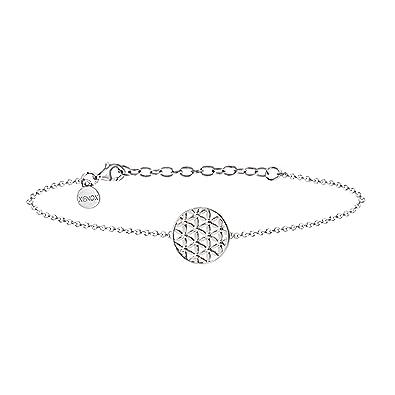 XENOX XS2899 Damen Armband Lebensblume Symbolic Power Sterling-Silber 925  Silber 20 cm  Amazon.de  Schmuck b5bc3a2d0b