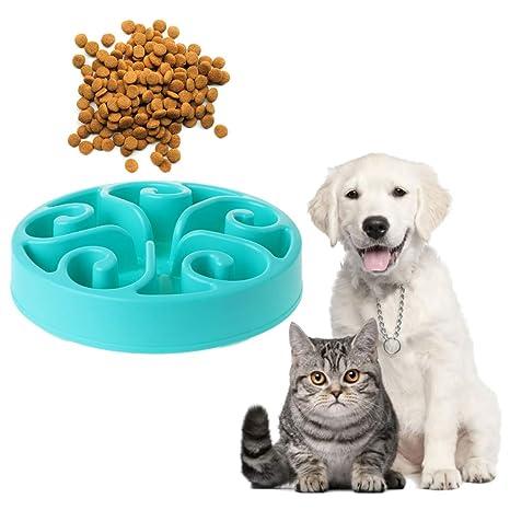 Biniwa - Comedero Interactivo para Mascotas, tamaño Grande, comedero Lento, Juguete de Dieta