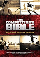 The Competitor's Bible features the NLT translation and contains 365 devotions written by competitors for competitorsof all sports to equip them for their own walk with God, and provideGod-centered wisdom and perspective.  Additiona...