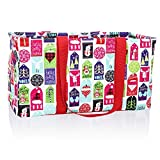 31 tote insert - Thirty One Large Utility Tote in Hello Holiday - No Monogram - 3121