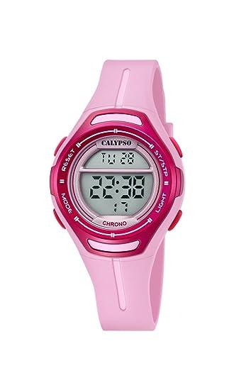 Calypso Reloj Digital para Unisex de Cuarzo con Correa en Plástico K5727/2: Calypso: Amazon.es: Relojes