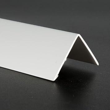 2m Winkelleisten Kunststoffprofil Kunststoff Winkelprofil Fensterleiste Buche