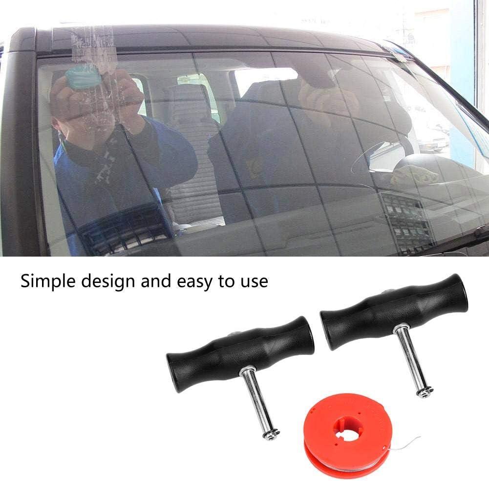 Auto Windschutzscheiben Entfernungswerkzeug Windschutzscheiben Fensterglas das Draht u Griffe schneidet Windschutzscheiben Entferner Werkzeug