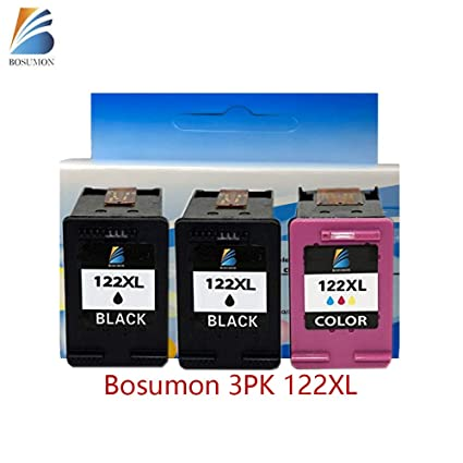 bosumon - Cartucho de tinta remanufacturado 122 x l ch653he ...