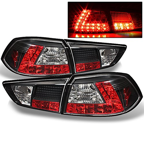 Jdm Black Led Tail Lights - 1