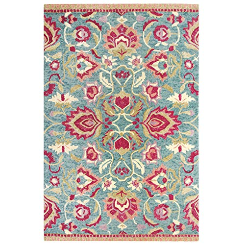 Colorfields Savannah Rug 5X8 Jade