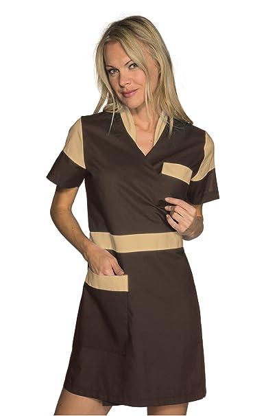 Isacco-túnica médica Kimono Biscuit Seoul Cacao: Amazon.es: Ropa y accesorios