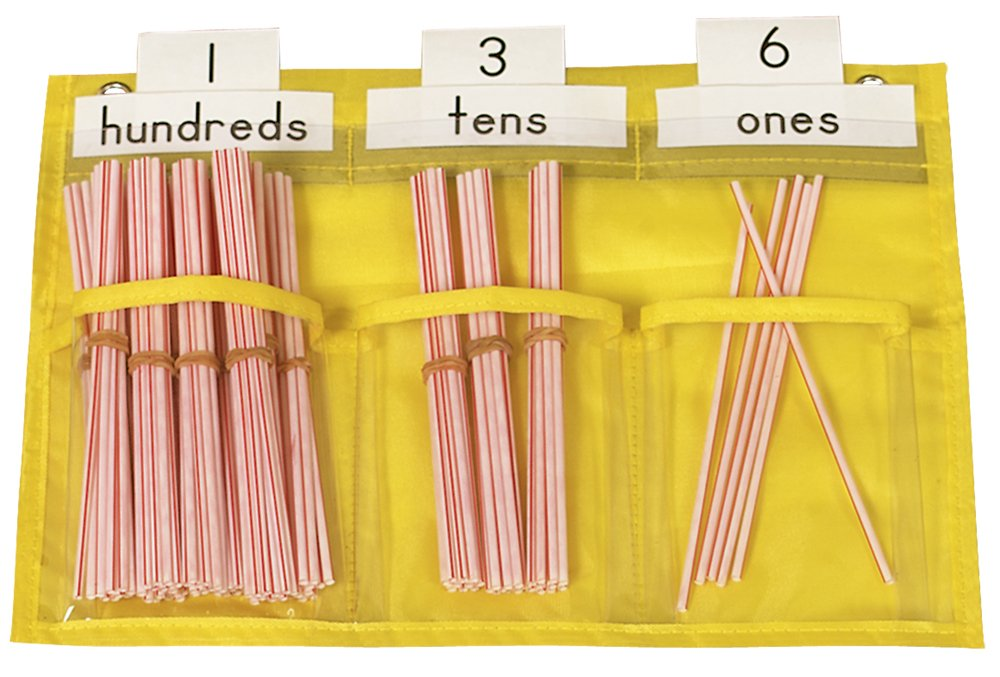 place value counting pocket chart math manipulatives