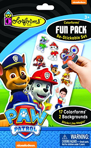 Colorforms Fun Pack Paw Patrol (Playboard Book)