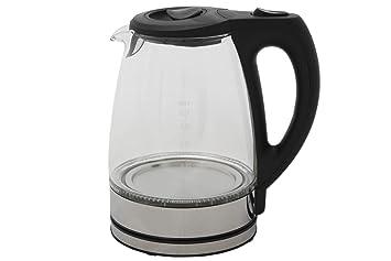 Glas Wasserkocher DESKI 1,7 l mit LED Beleuchtung 2200 W