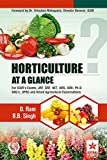 Horticulture at a Glance for ICAR's Exams, JRF, SRF, NET, ARS, IARI, Ph.D
