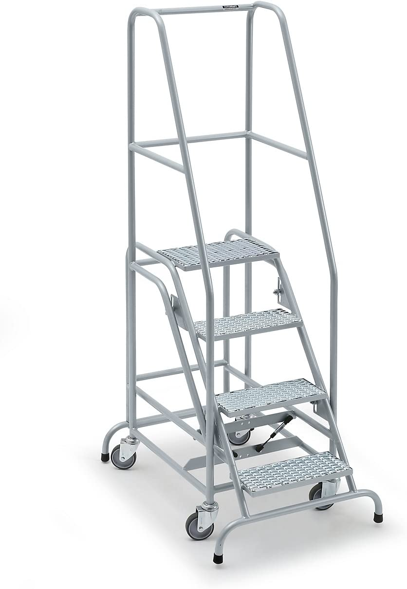 Mobile, escalera, con 4 niveles de entramado rejilla – Nivel Escaleras mobile Plataforma Escaleras llevado ayudas Nivel Escaleras mobile Plataforma Escaleras llevado ayudas Nivel Escaleras mobile Plataforma Escaleras llevado ayudas: Amazon.es: Oficina