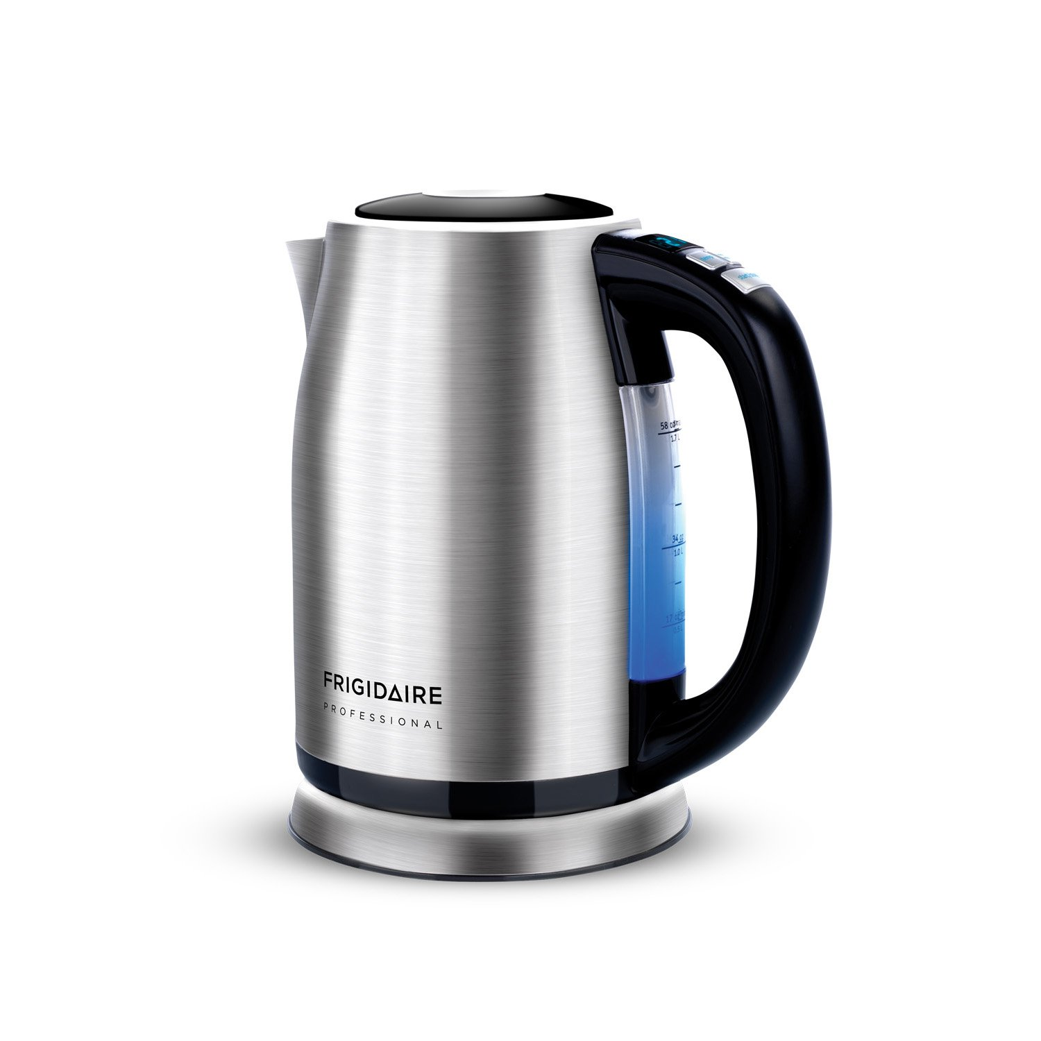 Frigidaire FPKT58D7NS Programmable Kettle, Stainless Steel, Small Electrolux