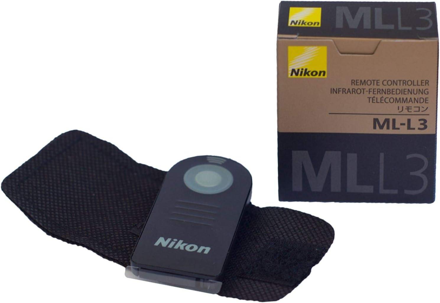 TELECOMANDO INFRAROSSI COMPATIBILE NIKON MLL3 IR ML L3 pila DA ITALIA