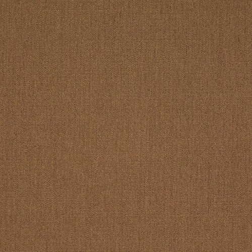 Cushion Chestnut Brown Sunbrella - Sunbrella Fabric - Canvas Chestnut #57001-0000