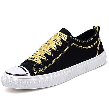 Zapatos de lona transpirables de verano zapatos de tendencia de los hombres zapatos de lona ocasionales ...