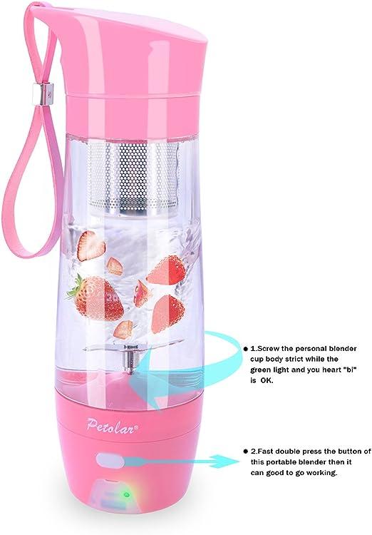 petolar portátil exprimidor de fruta taza con banco de la energía ...