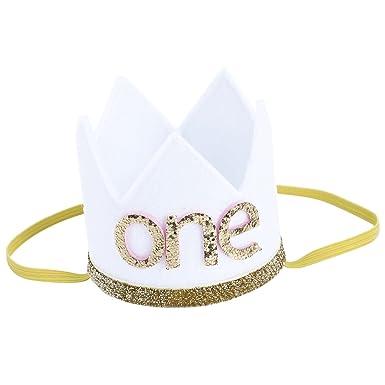Nrpfell Corona sombrero de primero cumpleanos de nina nino ...