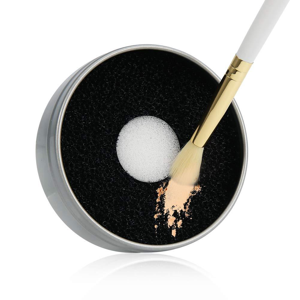 Docolor Makeup Brush Cleaner Color Removal Sponge Dry Quick Cleaner Sponge Removes Shadow Color