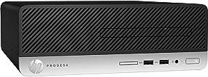 HP Business Desktop ProDesk 400 G6 Desktop Computer - Core i5 i5-9500 - 8 GB RAM - 256 GB SSD - Small Form Factor - Windows 10 Pro 64-bit - Intel UHD Graphics 630 - DVD-Writer - English Keyboard
