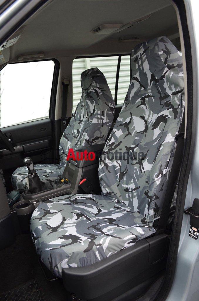 98- JIMNY VVT FRONT SEAT COVERS GREY CAMO DPM