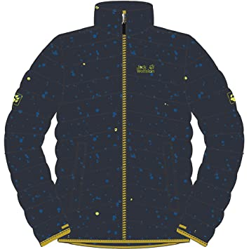 d213826dba72 Jack Wolfskin Boys Crosswind Microguard Insulated Winter Jacket Navy ...