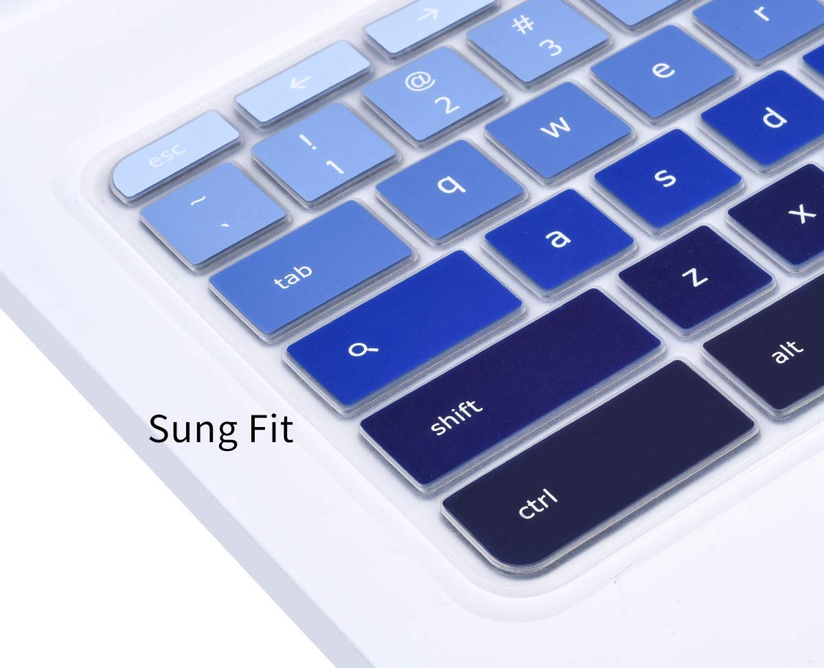 Amazon.com: Keyboard Cover for 2019/2018/2017 Acer Chromebook 11 CB3-131 CB3-132/ Chromebook R 11 CB5-132T/ Acer Chromebook Spin 13 CP713 CB5-312T/ ...