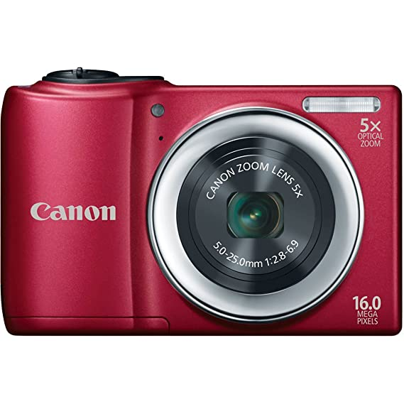Review Canon PowerShot A810 16.0