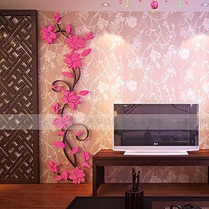Amazon.com: Ghaif 蔷 rattan acrylic 3D wall posters Hyun gateway ...