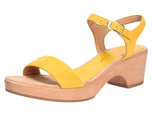 Ks Yellow Sandaletten Damen 19 Gelb Unisa Irita rsQxthdC