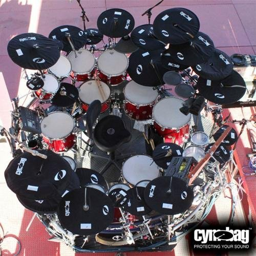Cymbag CY12BK Case for Cymbals