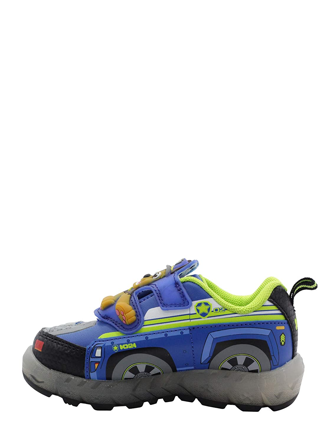 Paw Patrol Toddler Boys Light-Up Athletic Shoe Blue 9