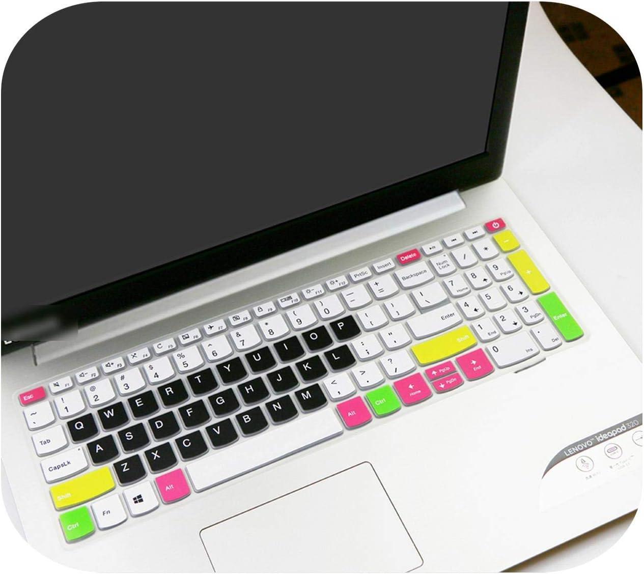 for Lenovo Ideapad 520 520 15 520 15Ikb 520 15Ikbr 720 720 15Ikba 720 15Ikbr 15.6 Inch 15 Laptop Notebook Keyboard Cover Skin-Rainbow