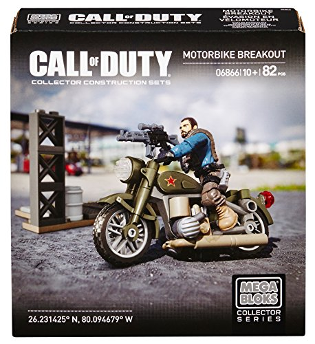 Mega Bloks Call Of Duty Motorbike Breakout
