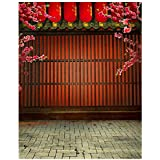 sodial 3x5ft fabric vinyl chinese lunar new year spring festival theme party wall decorations mural photography