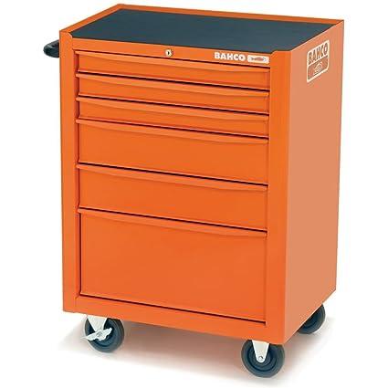 Bahco pecho armario de herramientas con ruedas para carrito con 130 herramientas 6 cajones 1470 K6ff2