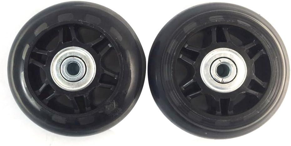 2ruedas para maleta, recambio de ejes y llave de reparación de 70 mm