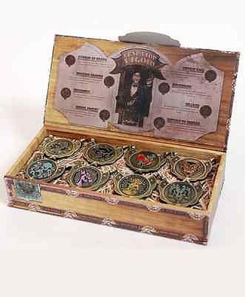 BioShock Infinite Deluxe Collector's Edition Bronze Vigor - 8 Pin Set