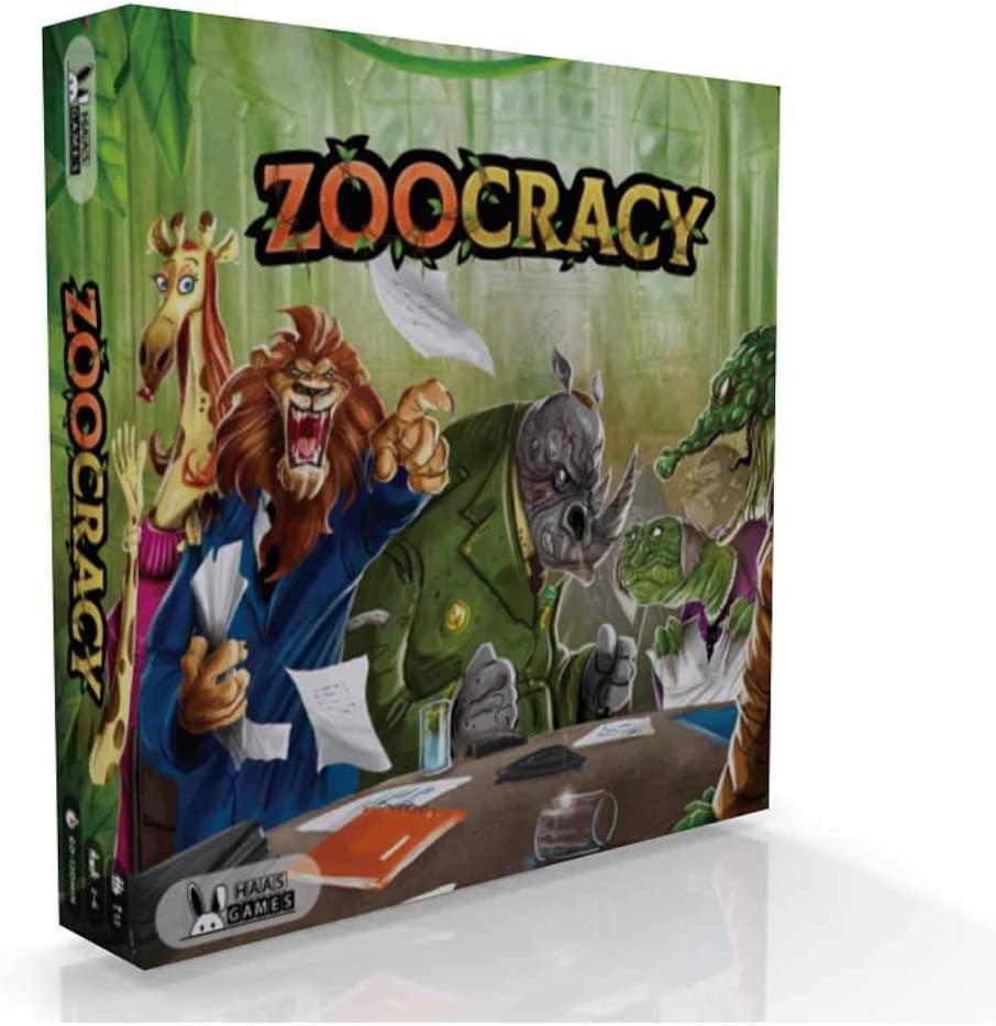 Zoocracy Interactive Board Game