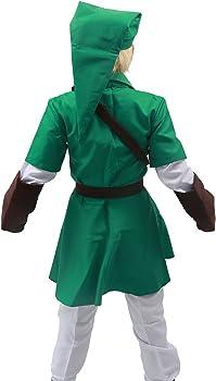 Link completo para hombre disfraz infantil de Cosplay verde diseño ...