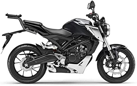 Shad Top Case Carrier Arms H0cn18st For Honda Cb 125 300 R Unisex Tourer All Year Steel Black Auto