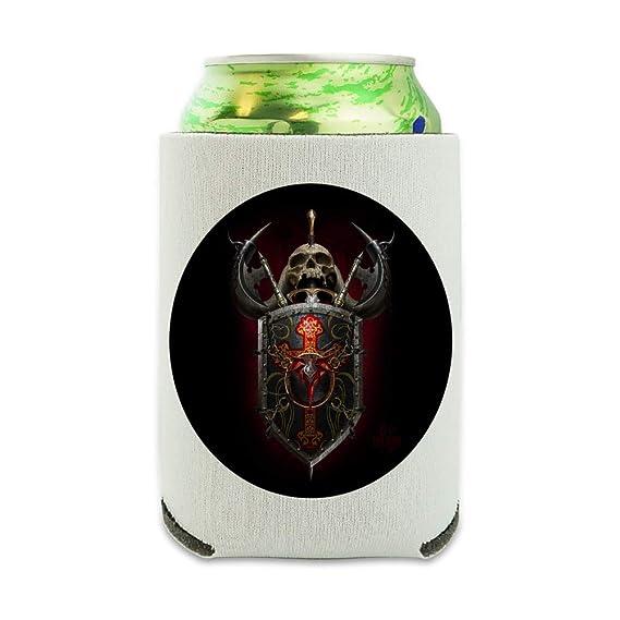 Warrior Knight Tank Dragon Shield Fantasy - Enfriador de latas ...