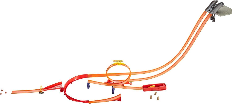 Hot Wheels Superpack construye tu pista, accesorios para pistas de coches (Mattel Y0276)