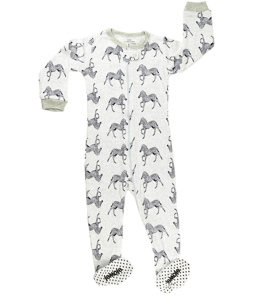 Elowel Baby Boys footedShark pajama sleeper 100% cotton (size 6M-5Years) Elowel Pajamas fb-shark00
