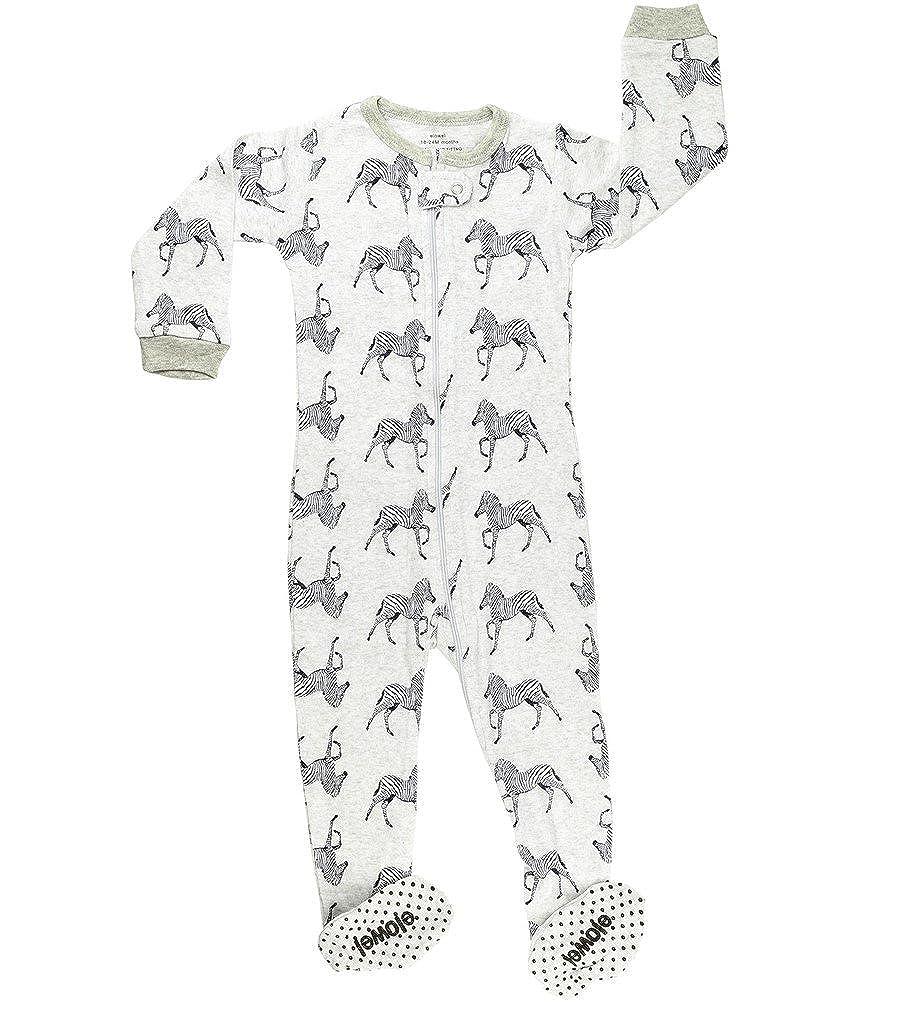 Elowel Baby Boys Footed Shark Pajama Sleeper 100% Cotton (Size 6M-5Years) fb-shark00